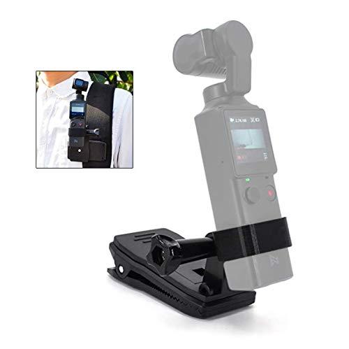Flycoo2 - Soporte de fijación con pinza adaptadora para Xiaomi FIMI Palm Accesorio de extensión para cámara de acción
