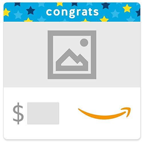 Amazon eGift Card - Congrats Stars (Your Upload)