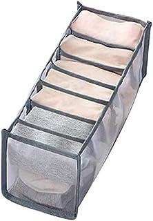 Boîte de rangement épaisse pour sous-vêtements et chaussettes, tiroir Divider Home Dortoir, penderie, boîte pliable pour s...
