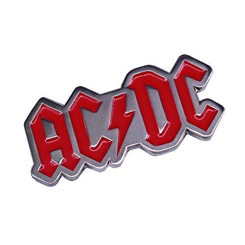 AC/DC Pins, Hard Rock, ACDC-Brosche, 3,5 cm, Musikbrosche