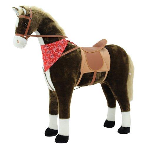 Sweety Toys 10332 Plüsch Pferd Taycan Riesen  Stehpferd