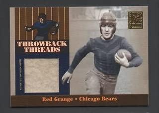 Red Grange Ray Nitschke PRIME Donruss ELITE Throwback Threads Jersey Helmet #/15