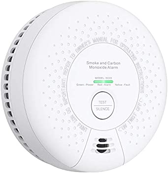 X-Sense Combo Smoke & Carbon Monoxide Detector with 10-Year Battery