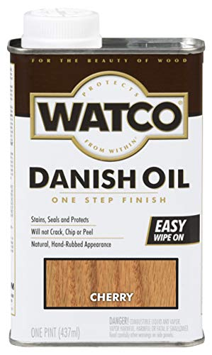 Watco 65251 Danish Oil Wood Finish,...