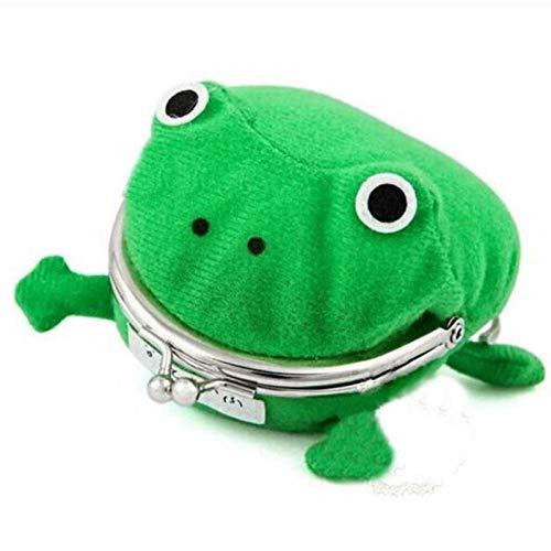 YSJJQSC Plüschtiere 1 stück Anime Zubehör Froschform Brieftasche Nette Geldbörse Münze Tasche Plüschtiere für Kinder Geschenk Geschenk