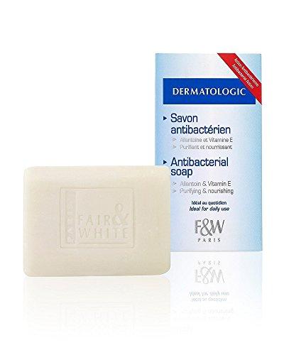 Fair & White Original Dermatologic Soap with Allantoin & Vitamin E - Purifying & Nourishing, 200g / 7oz