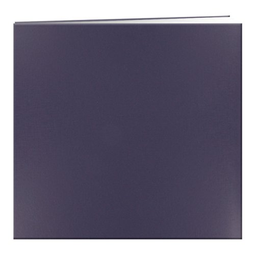 Pioneer Photo Albums MB-10 Post Bound Leatherette Cover Memory Book, 12 by 12-Inch, Bay Blue