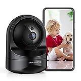 SuperEye 1080P Caméra de Surveillance WiFi avec Vision Nocturne, Caméra Domestique...