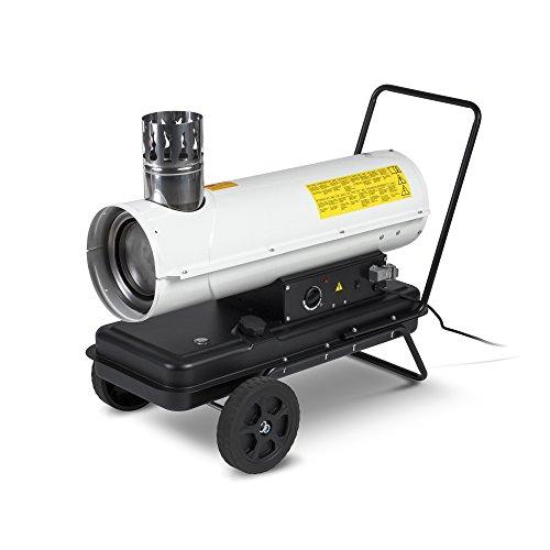 TROTEC Calefactor de gasoil indirecto IDE 20 Potencia térmica nominal de 20 kW