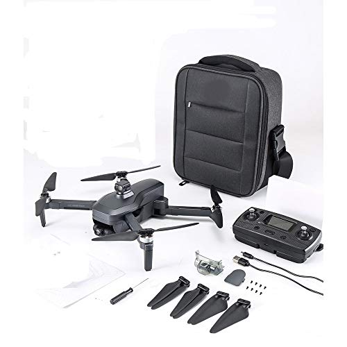 LIZHOUMIL SG906 Pro Foldable Mini Drone with with 4K HD Camera,3-Axis EIS Anti-Shake Gimbal Obstacle Avoidance, Brushless Drone RTF 3 Battery