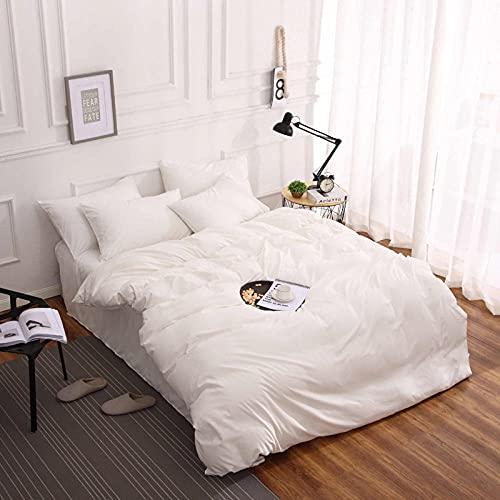 Greatcomfort Ropa de Cama,Ropa de Cama súper Suave Simple de Tres Piezas-Colorido Color 10_mellizo