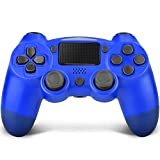 TechKen Controller Ps4,Wireless Controller für PS4 Play Station 4 mit Audiofunktion Touchpanel Dualshock 4 Controller Ersatz Playstation 4 Kontroller Ps4 Pro Controller für Ps4 / Ps4 Slim / Ps4 Pro