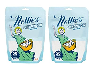 Nellie's Laundry Soda, 50 Load Bag (Pack of 2)