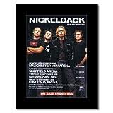 Music Ad World Mini-Poster, Motiv: Nickelback - UK Tour
