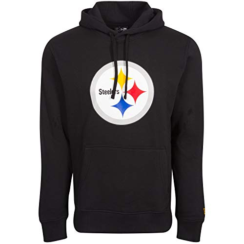New Era Sweat à Capuche - NFL Pittsburgh Steelers Noir