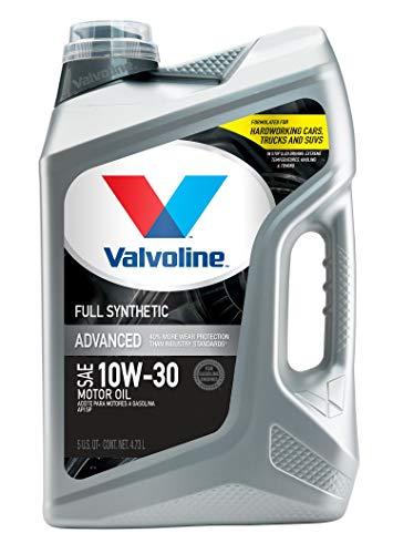 Valvoline Advanced Full Synthetic SAE 10W-30 Motor...