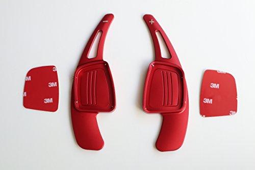 Pinalloy Lega in lega di metallo rossa Estensione leva del cambio per A3 A4L A5 Q7 TT TTS S4 Q2 S3 SQ 2016-2017