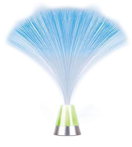 Fiber Optic Lamp Color Changing - Fiber Optic Light Battery Operated Table Lamp Room Decoration. LED Fiberoptics Light Toy Use for Mood Lighting, Night Lights for Adults, Colorful Lights for Bedroom