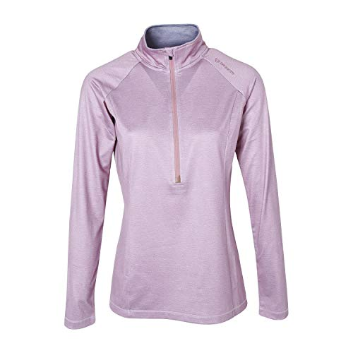 Brunotti fleece pullover Yrenna Melange FW1920 Vrouwen Fleece roze verwarmend