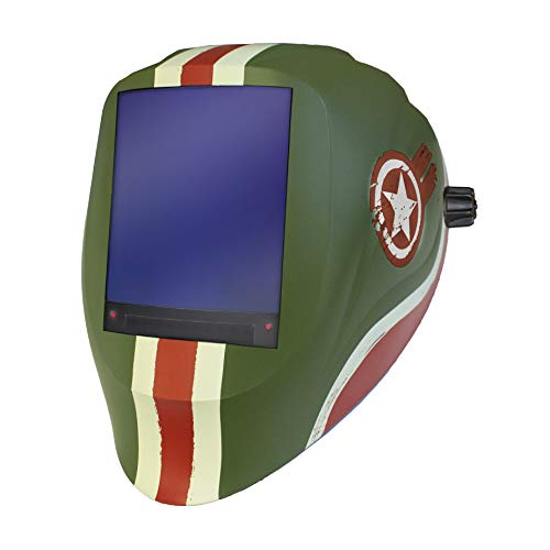 ARCONE BFFVX-1555 Vision Welding Helmet with BFFVX Industrial Auto-Darkening Lens, Tank