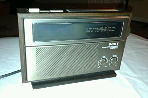 Rare Vintage Mint Sony Icf C815w Fm/am/lw Alarm Clock Radio Dream Machine