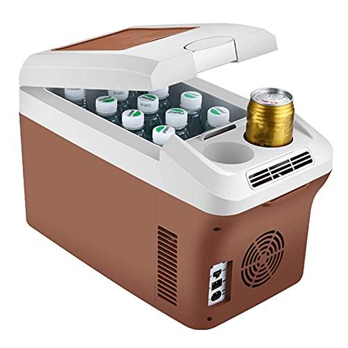 Yangyang Nevera TermoeléCtrica PortáTil,Congelador Refrigerador Compresor AC/DC Conexiones 12 / 24v, 15 litros De Capacidad, ClasificacióN EnergéTica para Coche, CamióN, Barco Y Autocaravana