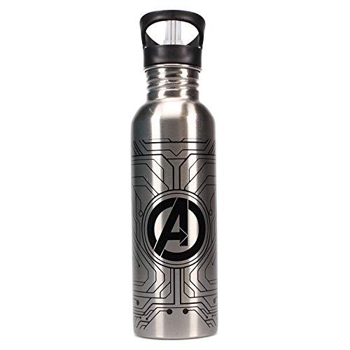 Marvel Botella de agua deportiva Aluminio, Metal, única