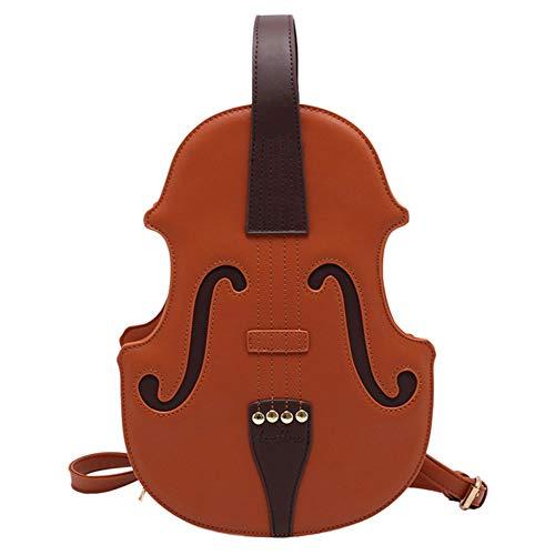 FEIFEI Personalized Large-capacity Girl Fashion Small Shoulder Messenger Bag Piano Key Top Handle Handbag Satchel Handbag Handbag Purse (Brown)