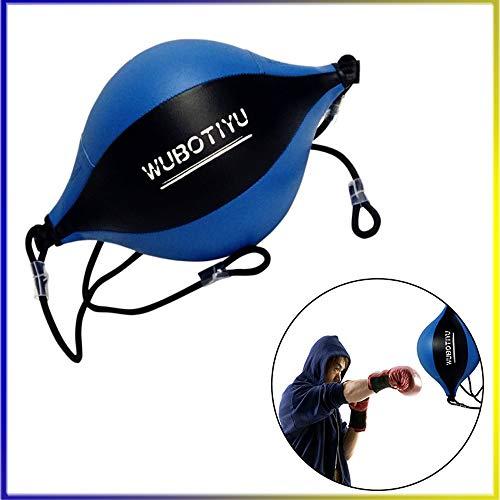 VORCOOL Doppelendball Leder Geschwindigkeit Dodge Ball Double End Gym MMA Boxhandschuhe Sport Punch Tasche Boden bis Decke Seil Training Ball