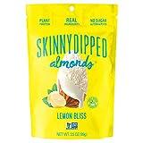 SKINNYDIPPED Lemon Bliss Yogurt Covered Almonds, 3.5 oz Resealable Bag, 5 Count from AmazonUs/JJ0F4