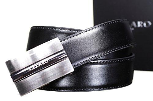 AZZARO - Ceinture 2163 Reversible Noir/Marron - Couleur Noir - Taille Ajustable