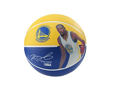 Lowest Prices! Spalding 83345 Kevin Durant Basketball, Gold/Blue