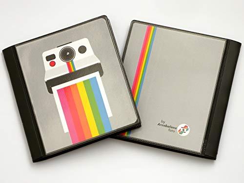 Svar Album a Tasche per Foto Polaroid (600/SX70/iType) Photo Album 40 Foto (Polaroid Cam)