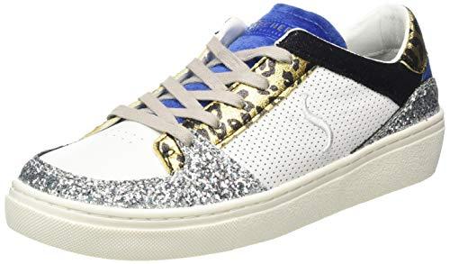 Skechers Goldie, Zapatillas Mujer, Multicolor Blanco Multi Mlt, 37 EU