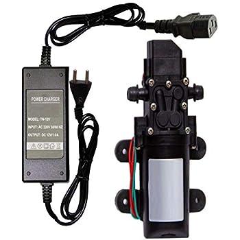 Electric Water Pump 12V Volt High Pressure Diaphragm Water Sprayer Car Wash DC