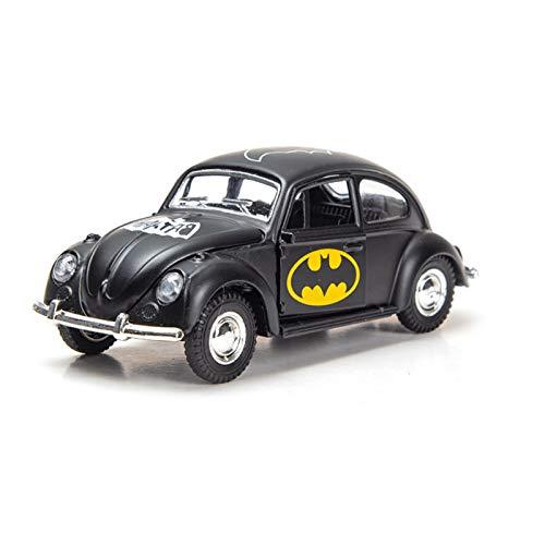 Mini coche de juguete extraíble, modelo de coche de dibujos animados de aleación de tres puertas, interior de coche de simulación, adecuado para niños y niñas de 3 a 4 años
