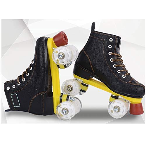 LXLTLB Inline Skates Kinder Erwachsene Inliner 4in1 | Verstellbare Schlittschuhe | Triskates Größenverstellbar ABEC7,37