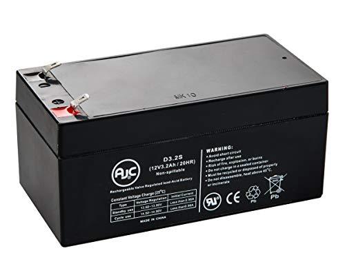 Batterie Yuasa NP3.4-12 12V 3.2Ah UPS - Ce Produit est Un Article de Remplacement de la Marque AJC®