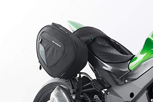 SW-MOTECH BLAZE H Satteltaschen-Set, Schwarz/Grau für Kawasaki Z1000 (14-)