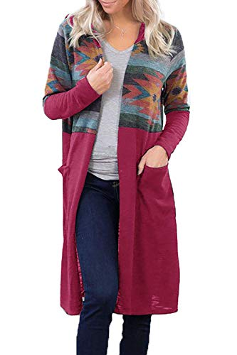 Women Long Sleeve Open Front Cardigans Outwear $8.10 (70% Off with code)