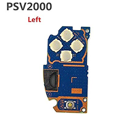Canamite Left Button Board PCB Circuit Logic Board Replacement for PlayStation PS Vita 2000 PSV 2000-Left