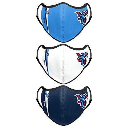 Tennessee Titans NFL Sport 3 Pack Face Cover