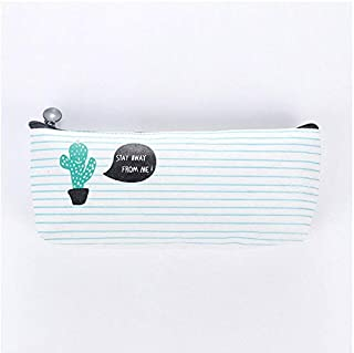 Pencil Bags - 1Pcs Kawaii Cactus Pencil Case Canvas office & school supplies kawaii school supplies Pencil Box Pen Bags sc...
