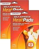 Masterplast autoadhesivo lacado al almohadillas generación de calor, de espalda los dolores musculares y de la alivio de , 2 unidades de