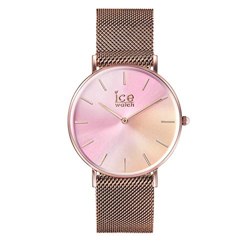 Ice-Watch - CITY sunset Milanese - Ballerina - Women's wristwatch with metal strap - 016025 (Small)
