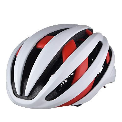 HKRSTSXJ Duro Bluetooth Smart LED Casco Ciclismo Transpirable Casco de Sombrero al...