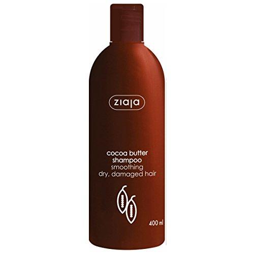 Ziaja Beurre de cacao Shampooing Profondément Nettoyant et lissant doux parfum 400 ml