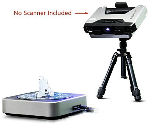 2019 New Shining 3D EinScan Industrial Pack (Tripod and Turnable) Compatible for EinScan Pro 2X/Pro 2X Plus and Pro/Pro Plus 3D Handheld Scanner, High Accuracy Auto Scan and Fixed Scan Modes