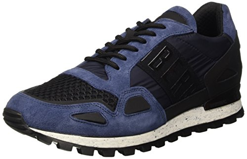 Bikkembergs Fend-Er 739 Shoe M Nylon/Nabuk, Scarpe Low-Top Uomo