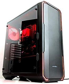 6コア12スレッド超快速ゲーミングデスクトップPC 次世代Ryzen5 2600プロセッサー搭載モデル/DDR4-8GB/HDD1TB/office/USB3.0対応/Win10/ゲーミングパソコン GTX1050Tiモデル, RGB-LED